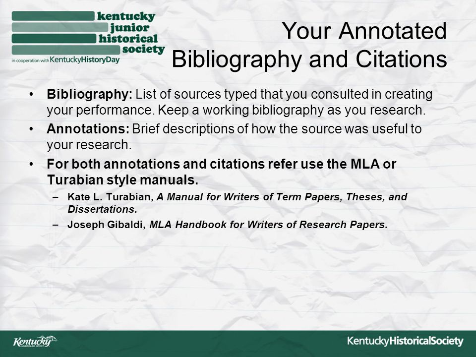 annotated bibliography for personal responsibility essay