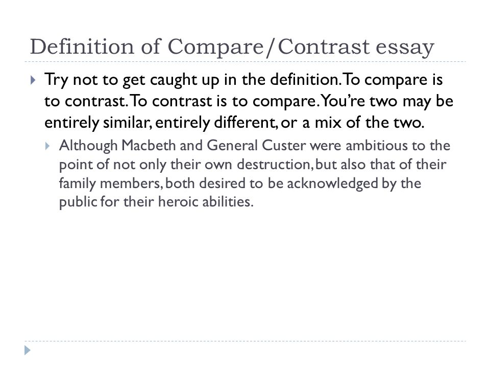 compare and contrast paintings essay This lesson explains what it is to write a compare and contrast essay for the student who needs to describe two subjects, a compare and contrast.