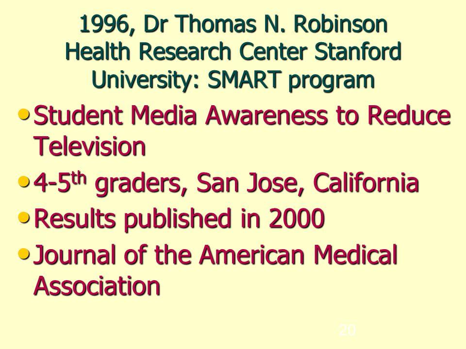 20 1996, Dr Thomas N.