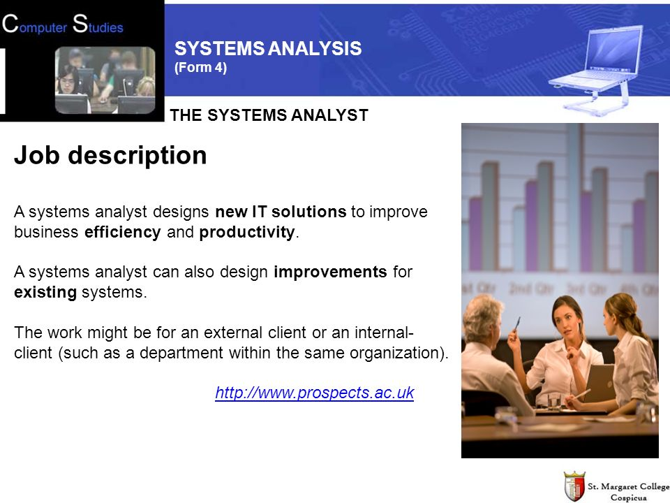 Systems Analysis Form  Included In This Topic Information