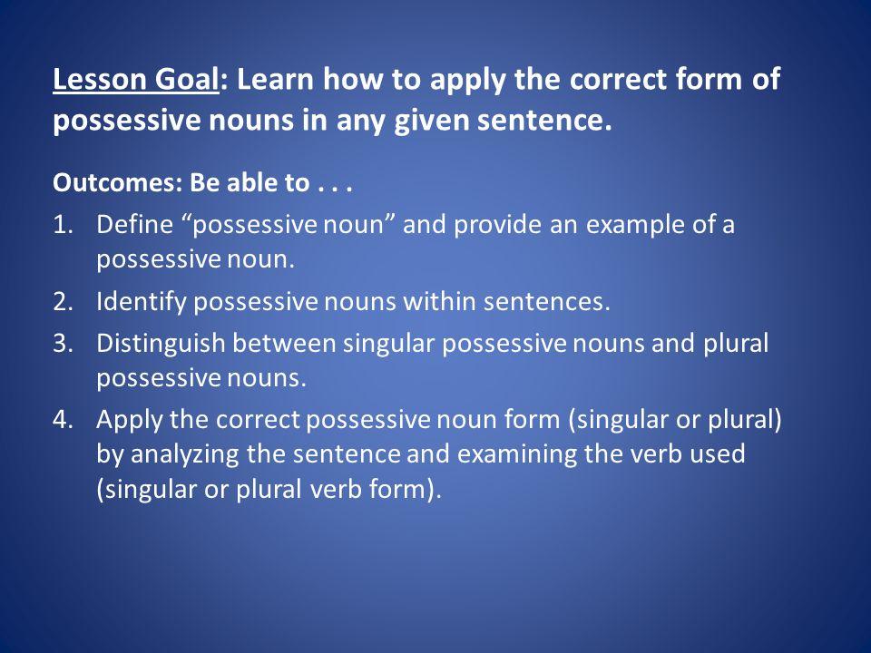 Grammar assignments