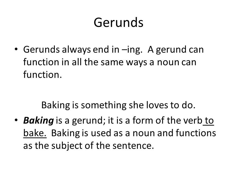 Language Notes. VERBALS Verbal noun: noun derived from a verb Verb ...