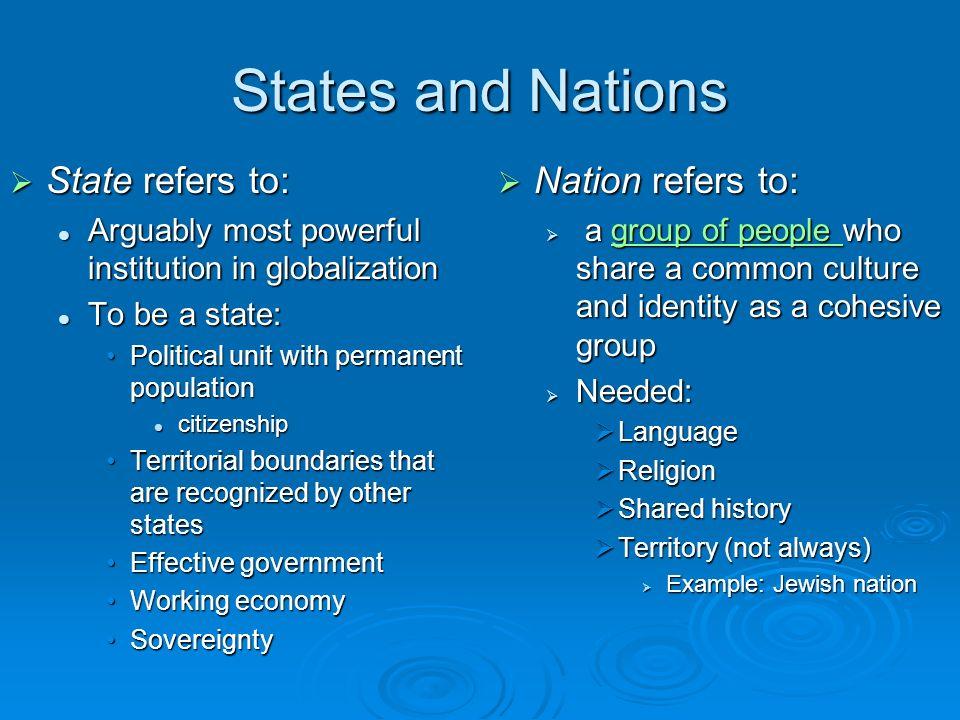 Political Geography Political Geography Geographic Concepts