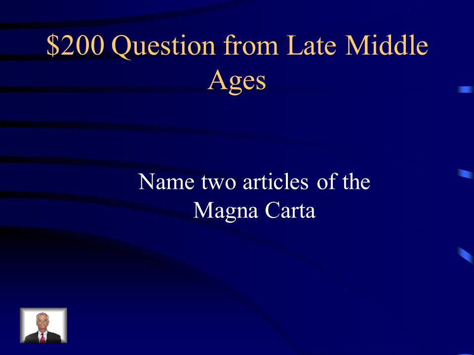 $100 Answer from Late Middle Ages No longer member of church and denied salvation