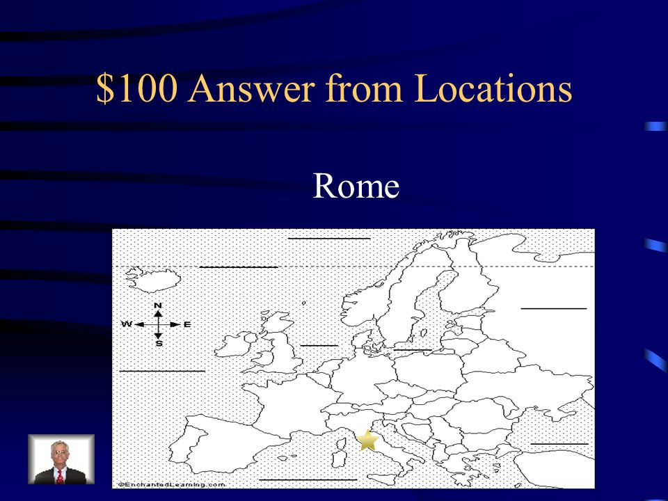 $100 Question from Locations What city is the seat of the Catholic Church
