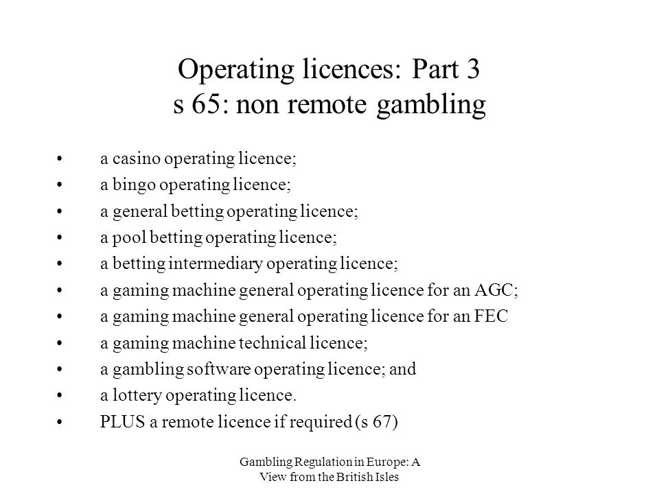 Gambling software licence best gambling destinations in the world