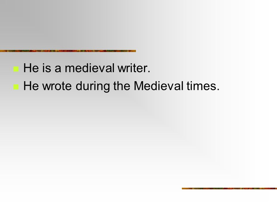 definition essay capitalization heads up medieval capitalization  3 he is a medieval writer he wrote during the medieval times