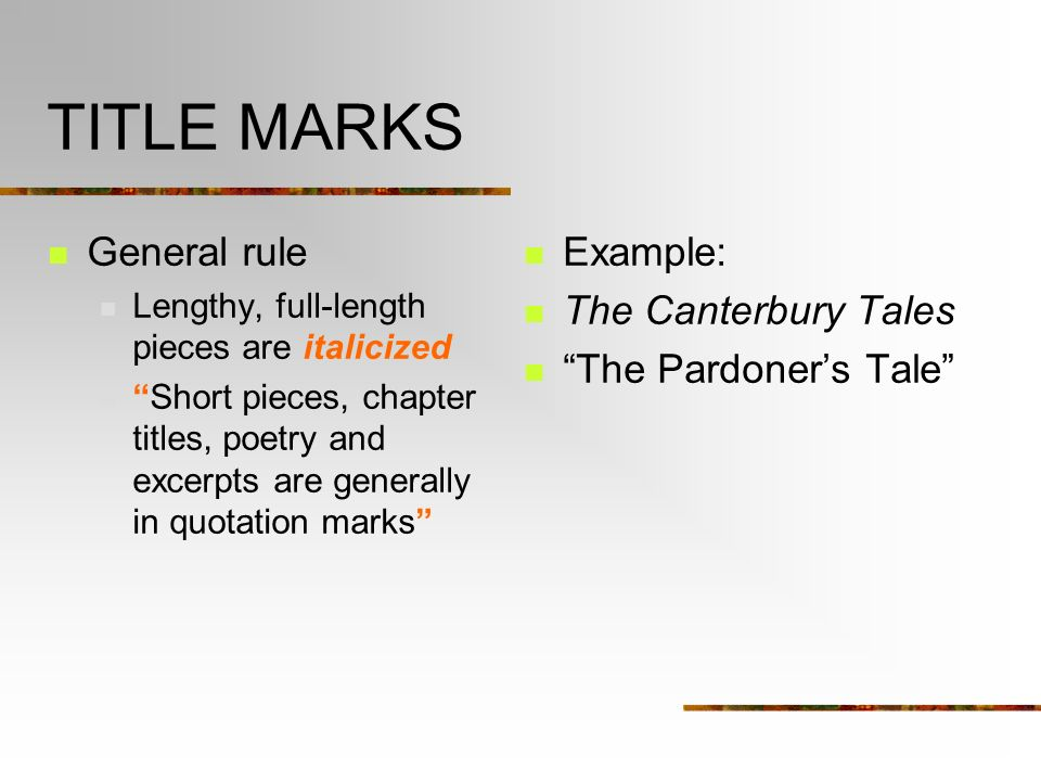 What are the rules on capitalization in the title of an essay?