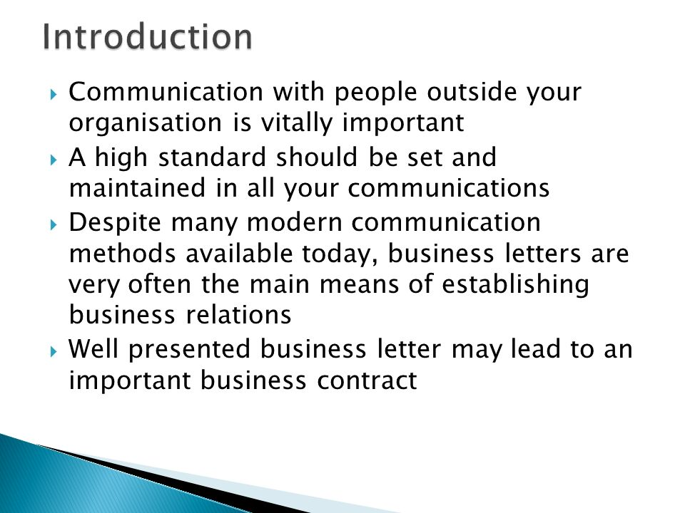 how to open a business letter