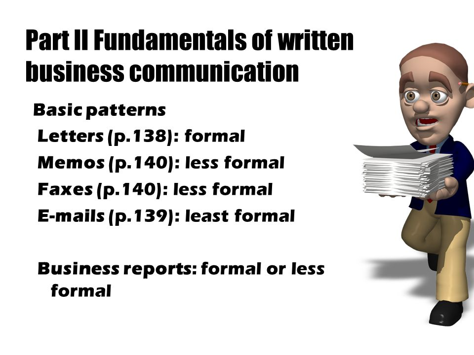 fundamentals of effective communication Effective communication skills are essential in the workplace some businesses invest in training their employees on how to effectively communicate, because effective communication skills go beyond conversations employees must know how to express business issues effectively when writing reports and emails.
