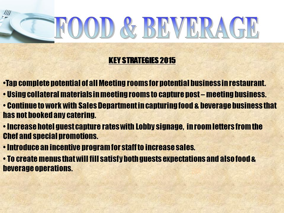 Restaurant Statement Critical Numbers A Weekly Report Every