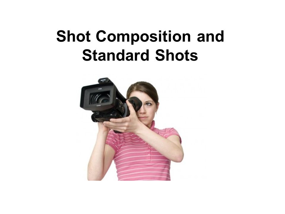 Shot Composition and Standard Shots