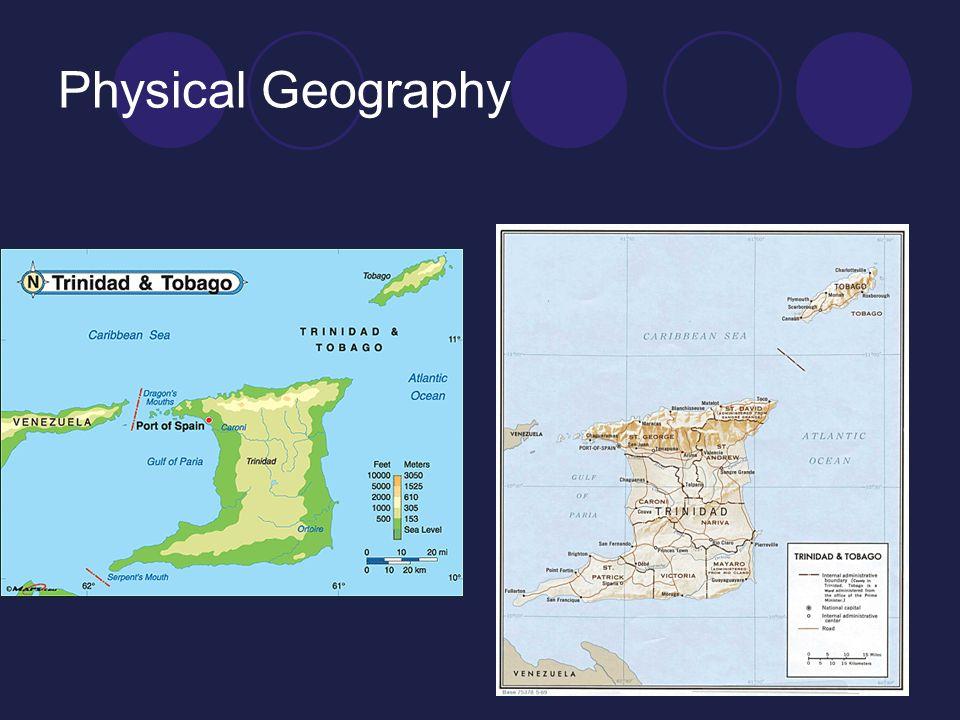 Trinidad Tobago Location Trinidad Tobago is located in the