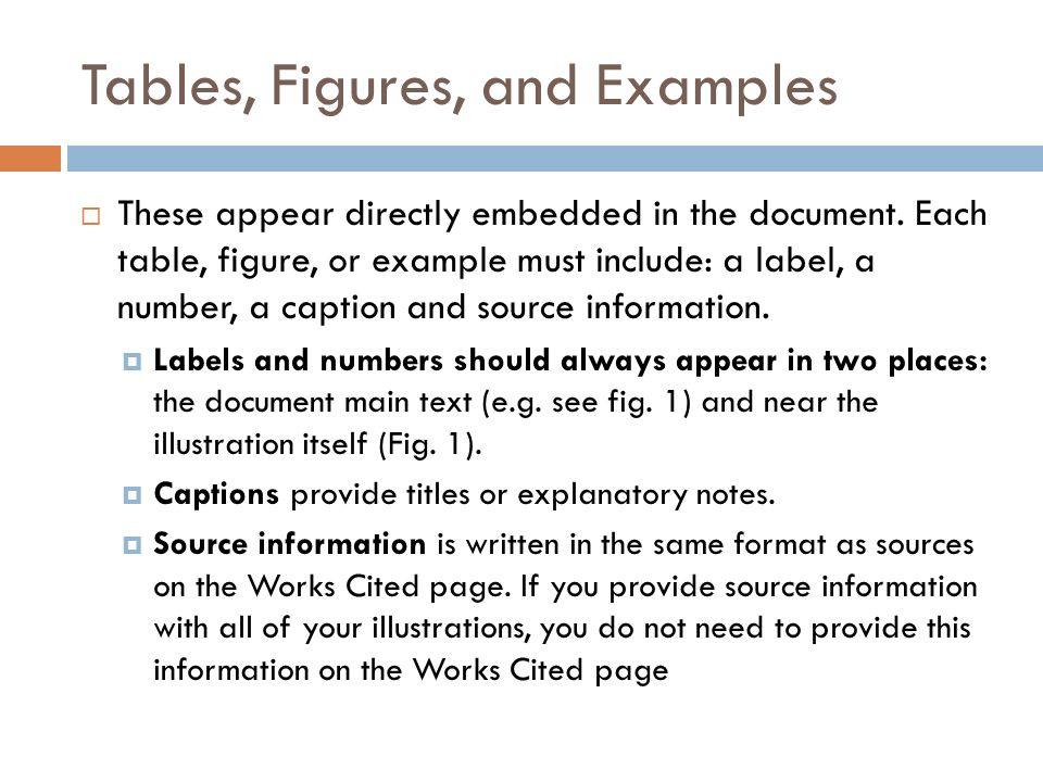 Tables, Figures, and Examples  These appear directly embedded in the document.