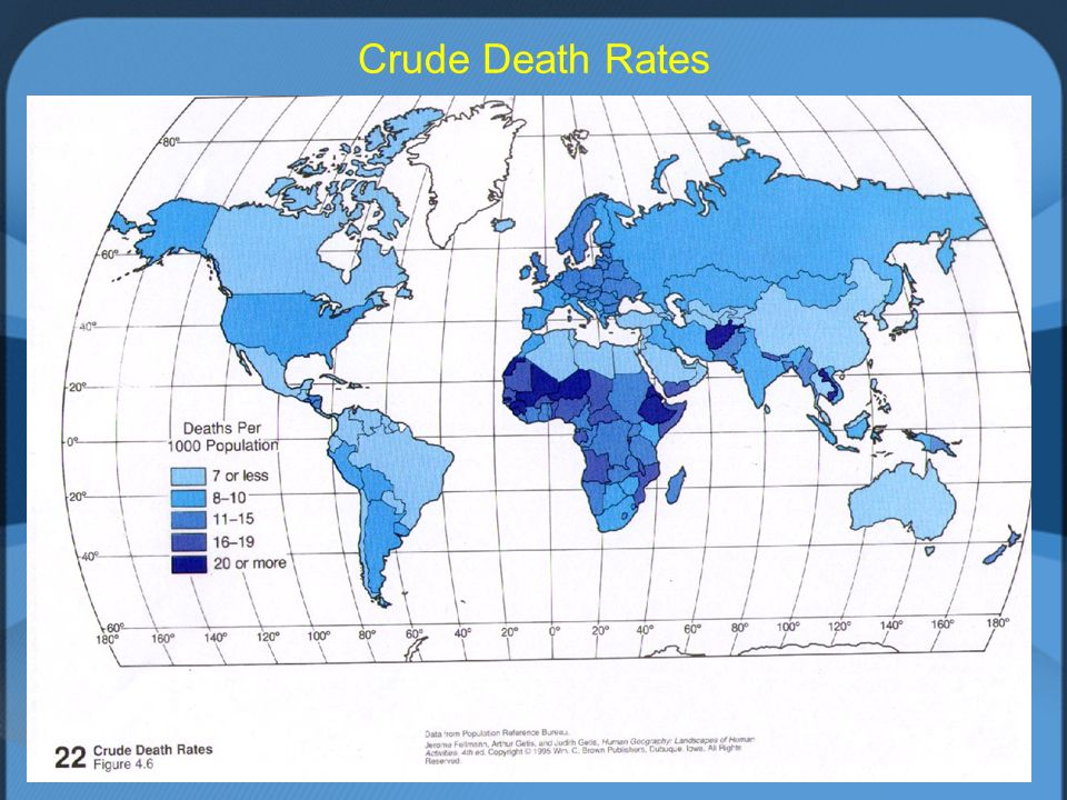 11 Crude Death Rates