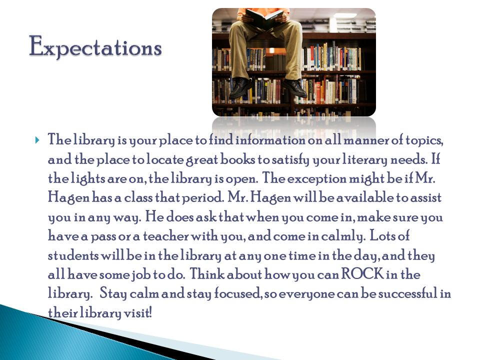  The library is your place to find information on all manner of topics, and the place to locate great books to satisfy your literary needs.