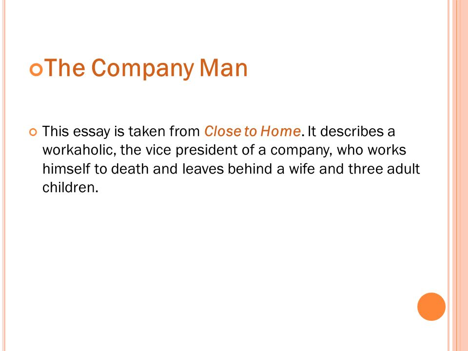 unit two the company man contents lead in text studyexercises oral  7 goodman
