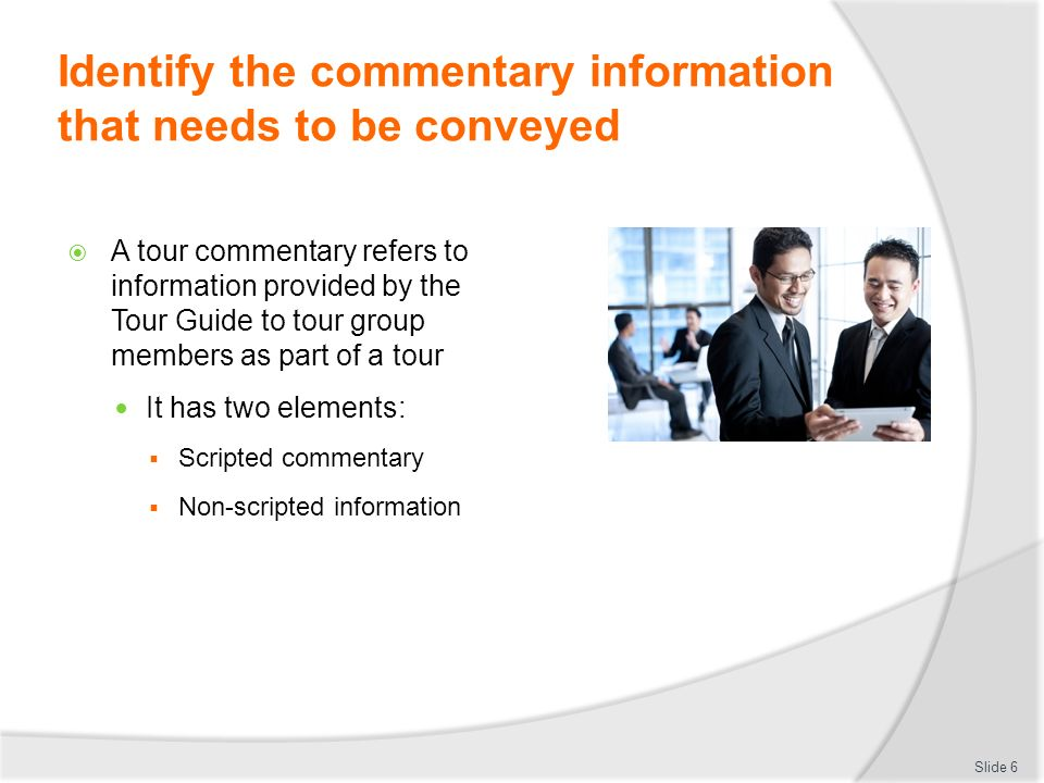 What is commentary?