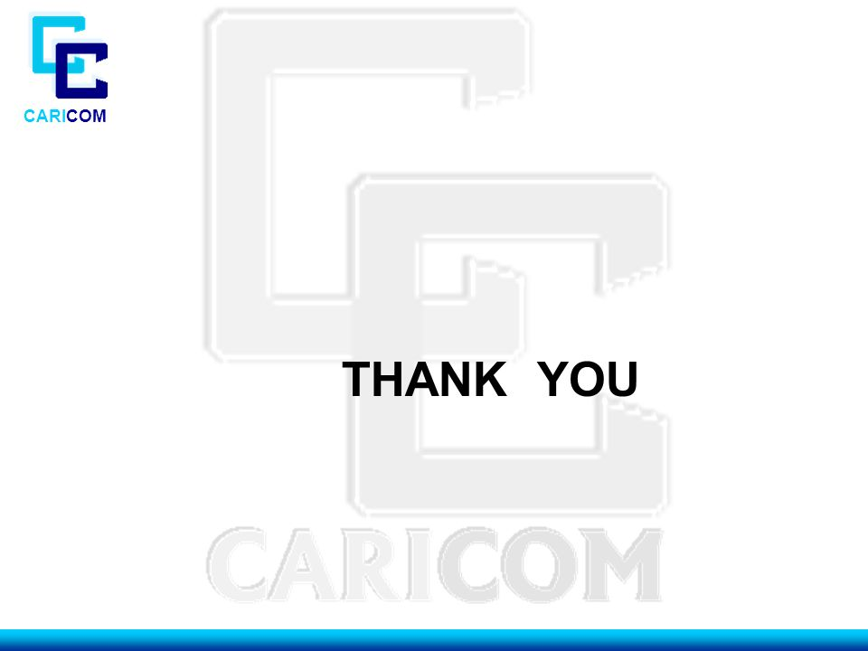 CARICOM THANK YOU