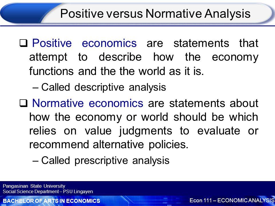 Is a B.S. in ecnomics better than a B.A in economics?