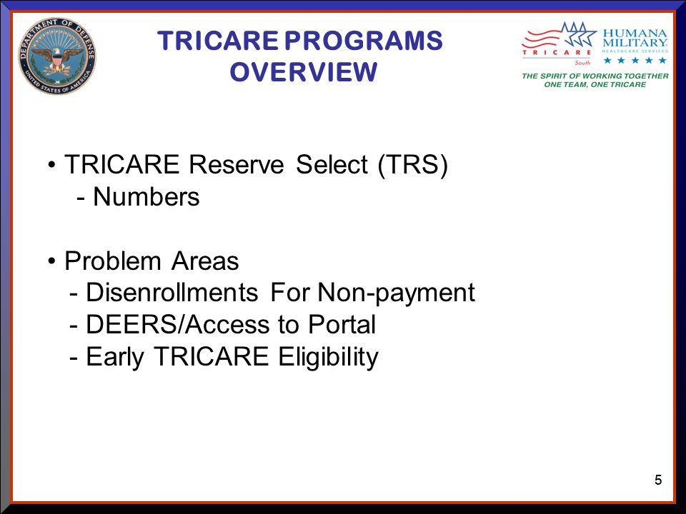 11 TRICARE SOUTH RESERVE/GUARD ADVISORY COMMITTEE MEETING November ...