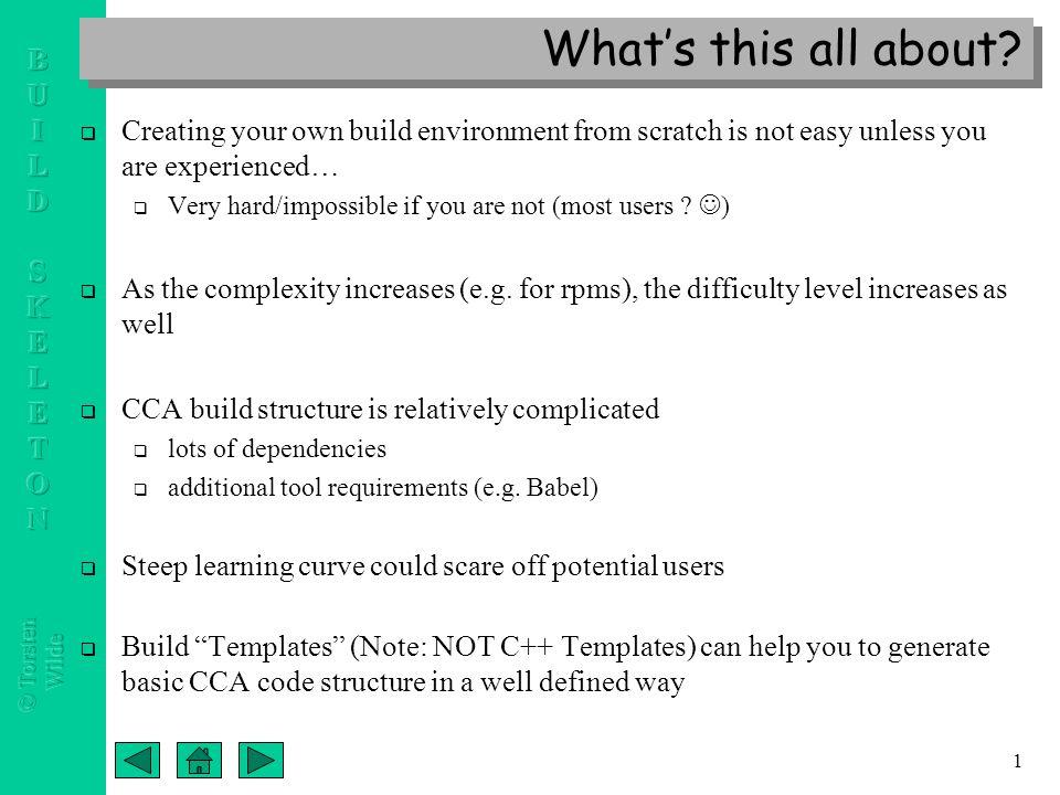 Cca port component application build skeleton templates a new 2 1 altavistaventures Images