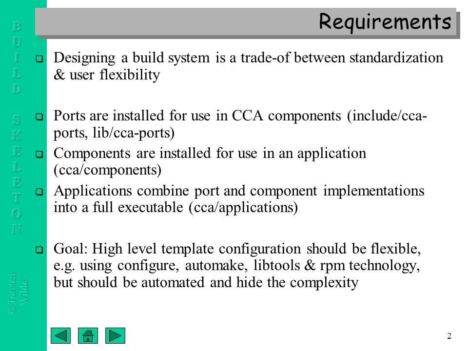 Cca port component application build skeleton templates a new 3 2 requirements altavistaventures Images