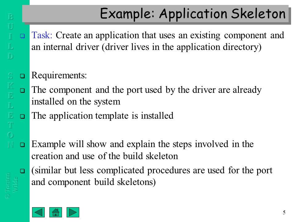 Cca port component application build skeleton templates a new 6 5 altavistaventures Images