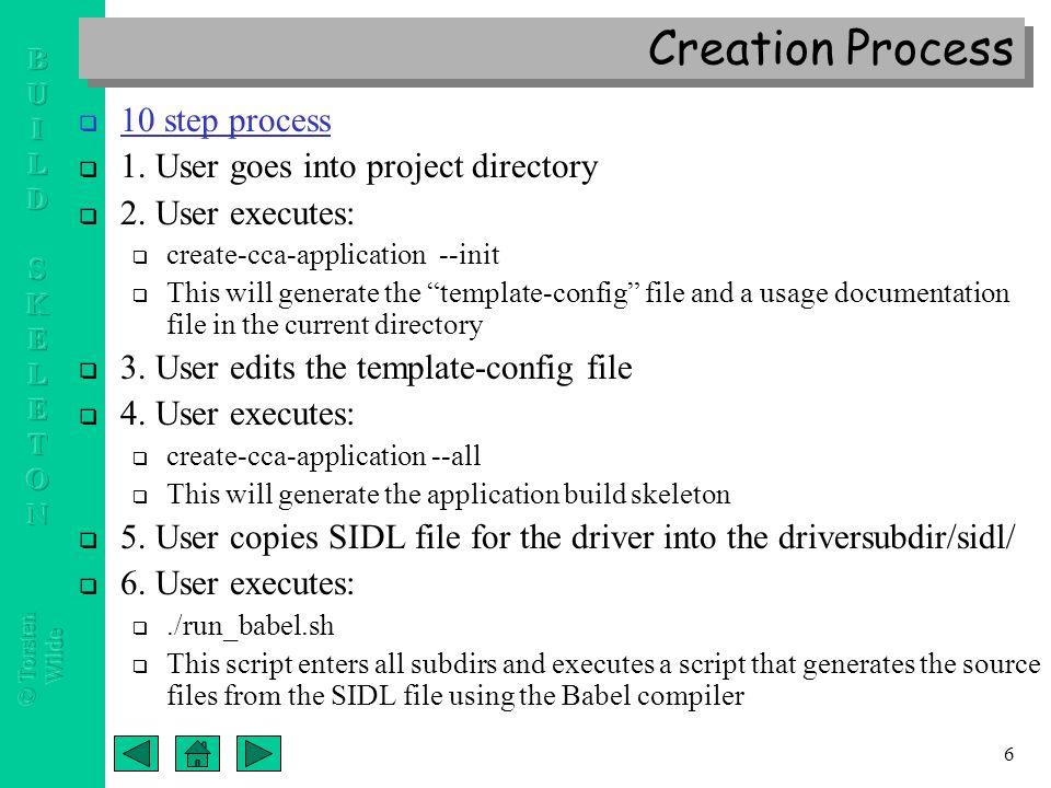 Cca port component application build skeleton templates a new 7 6 altavistaventures Images