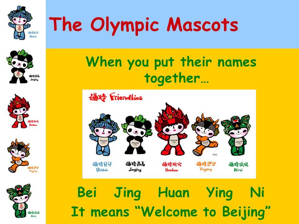 huan ying meaning