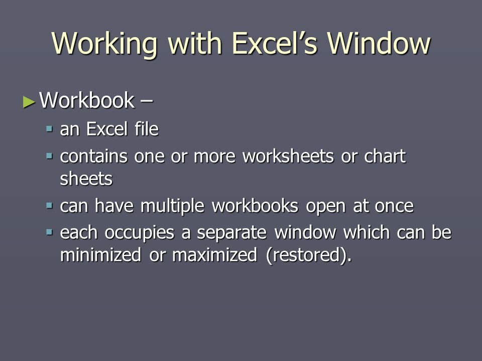 1 Essential Worksheet Operations Applications of Spreadsheets. - ppt ...