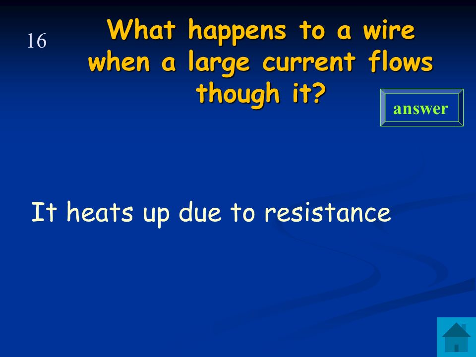 Amps (A) Ammeter answer 15 What is the unit of electric current What is used to measure it