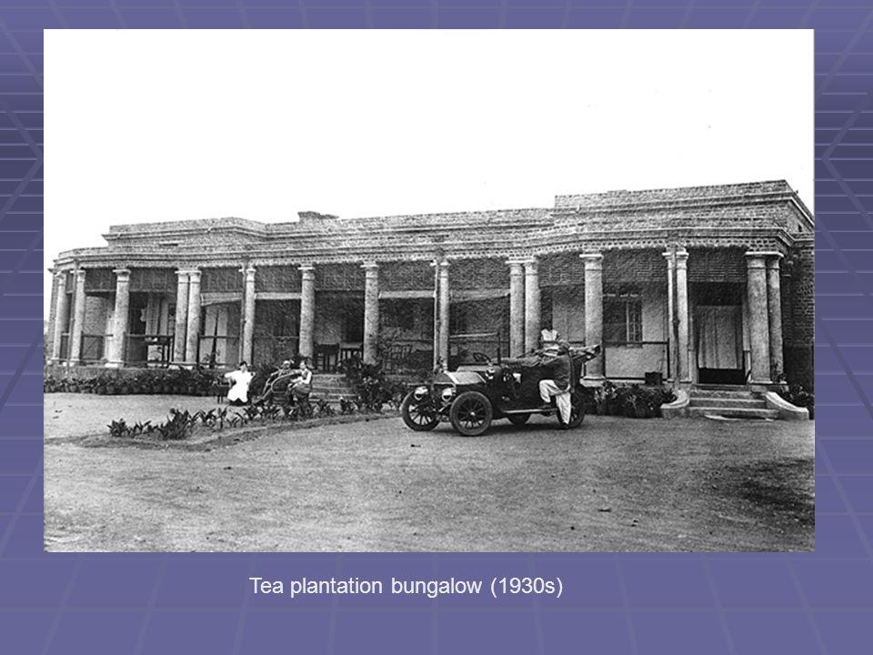 Tea plantation bungalow (1930s)