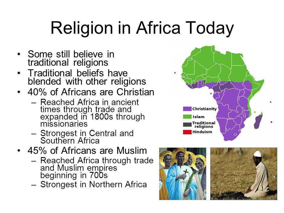 Do Now Where Did Ancient Civilizations Develop In Africa - Strongest religion in the world