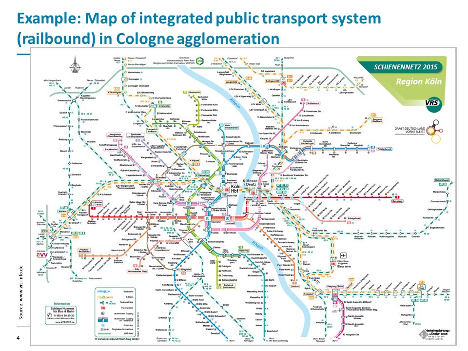VDV Public Transport By Rail In Germany Rome Oliver Wolff - Germany map 2015