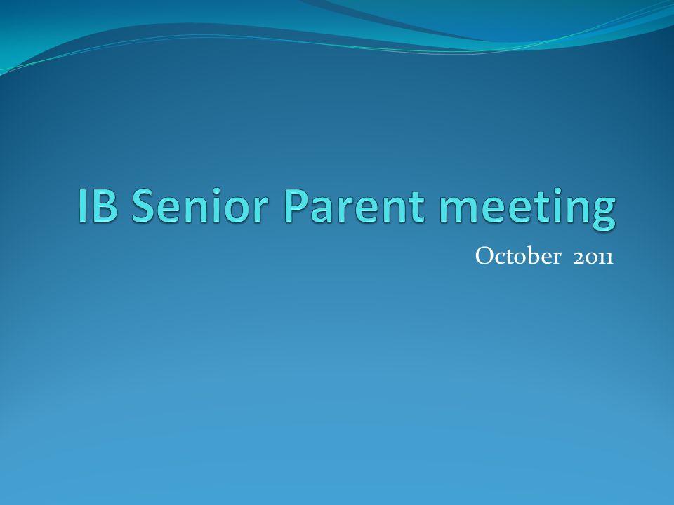 the ib senior year registration extended essay internal  1 2011
