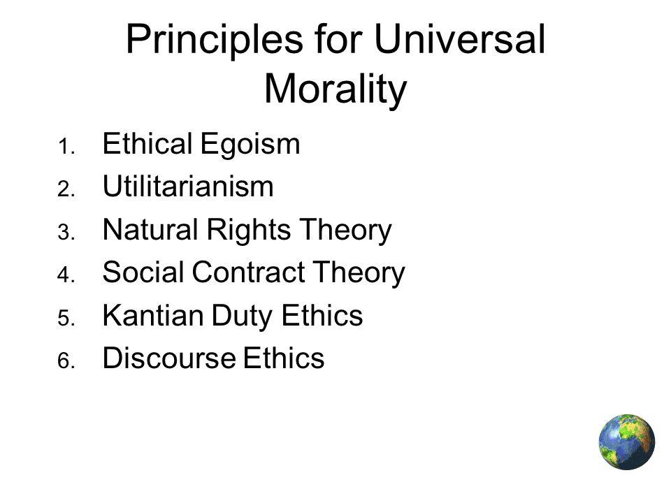 kantianism ethical egoism opposing views