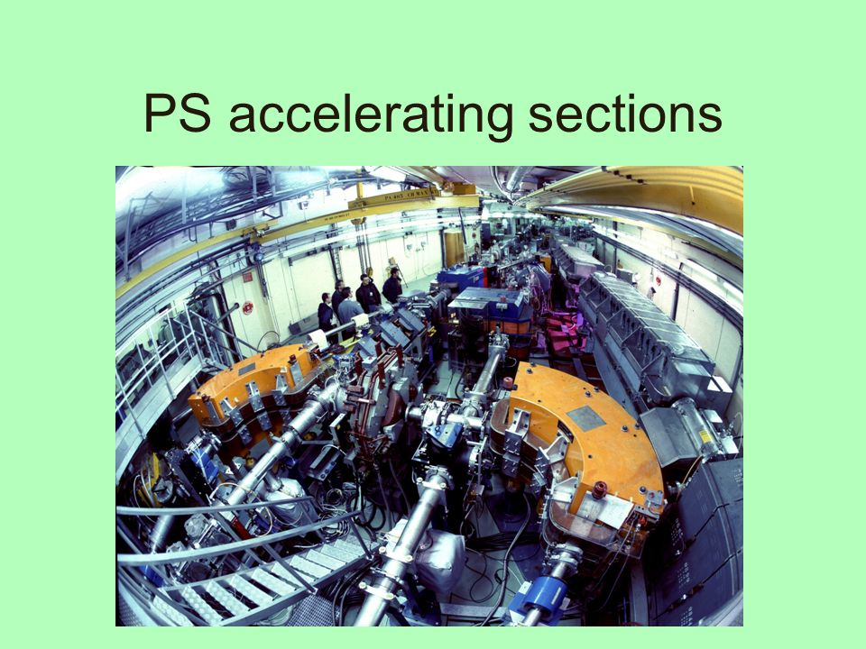 PS accelerating sections