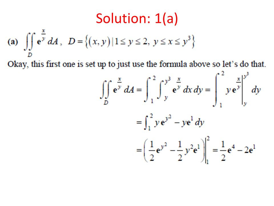 Solution: 1(a)