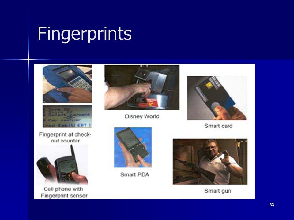 33 Fingerprints