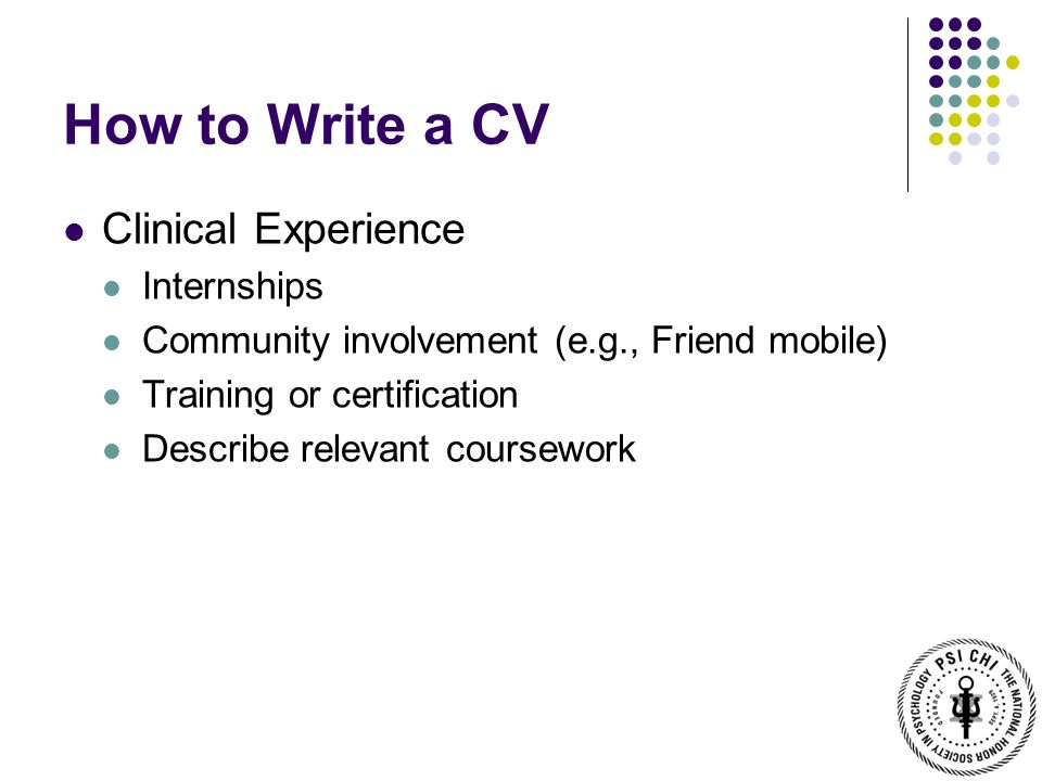 Listing coursework on my resume?