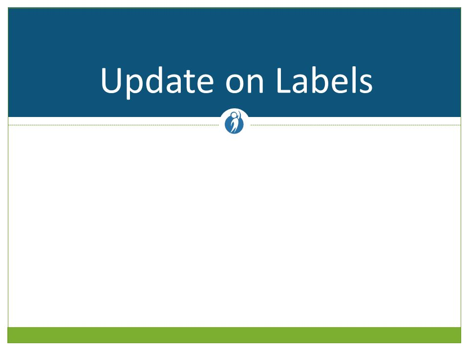 Update on Labels