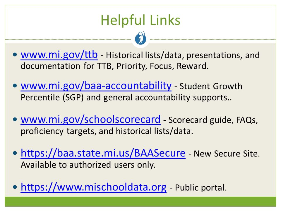 - Historical lists/data, presentations, and documentation for TTB, Priority, Focus, Reward.