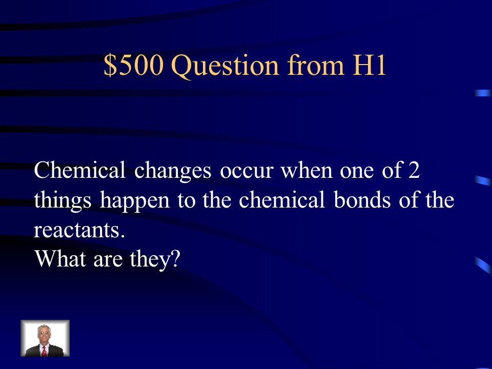 $400 Answer from H1 Endothermic, it takes in energy from the surroundings