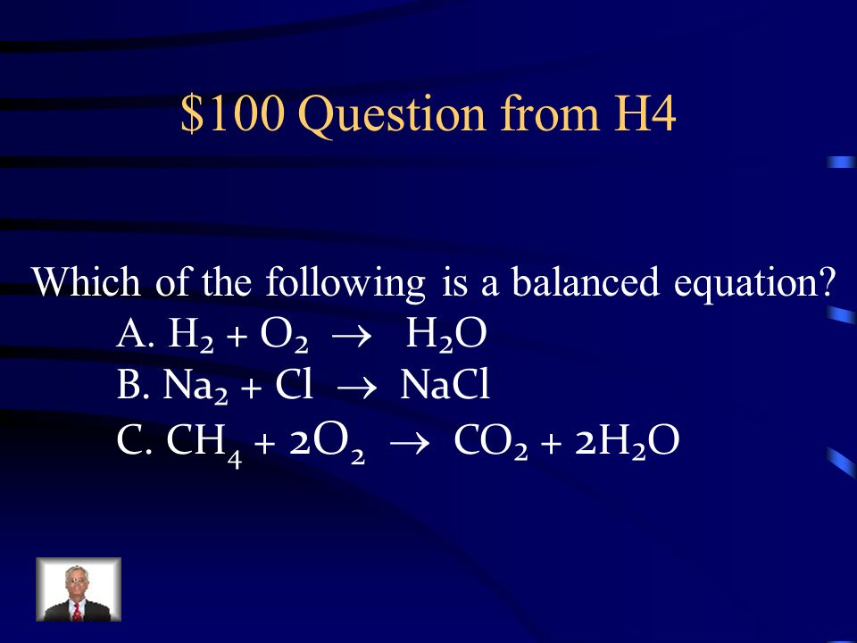 $500 Answer from H3 An endothermic reaction