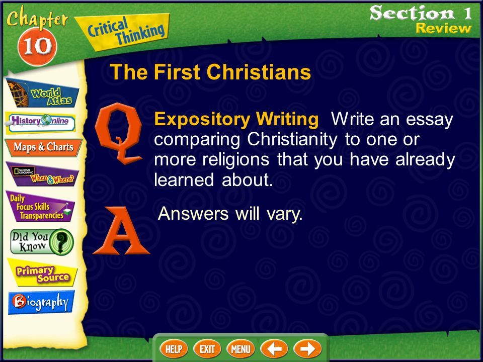 Essay On Christianity Religion