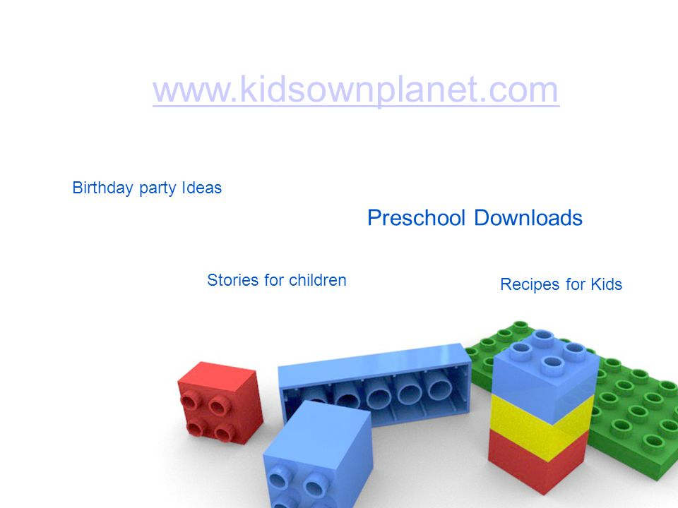 Recipes for Kids Birthday party Ideas   Stories for children Preschool Downloads