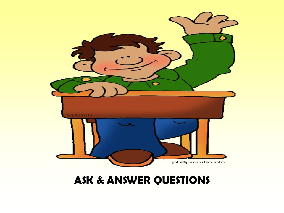 ASK & ANSWER QUESTIONS