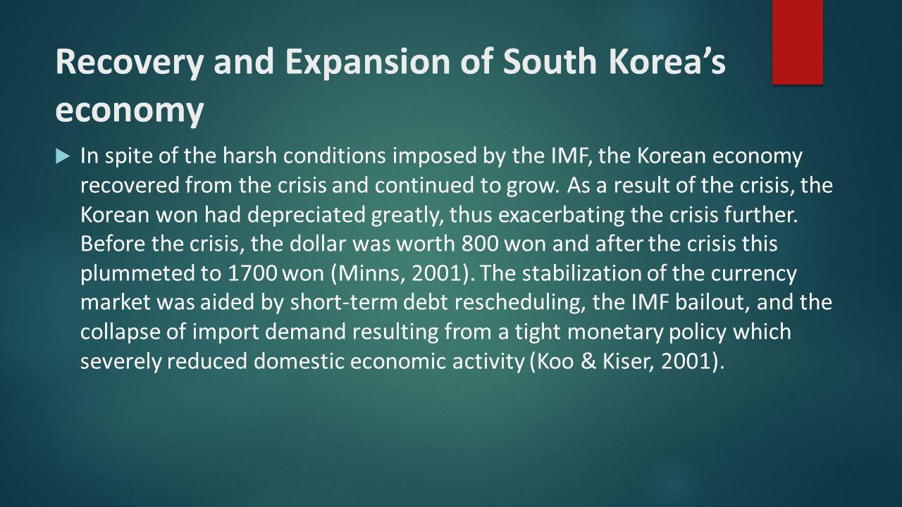 the political economy of south korea