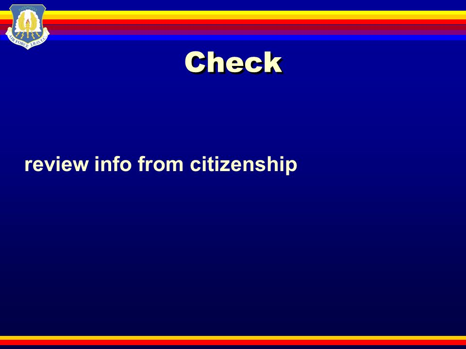 Check review info from citizenship
